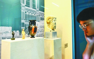 """""""博物馆的历史""""专题展在南京博物馆开幕"""