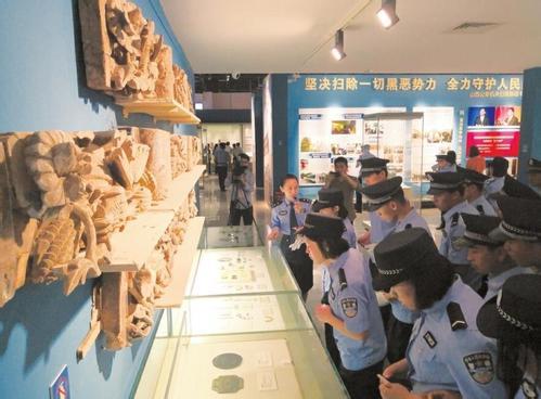 山西警方展出4431件追缴珍贵文物