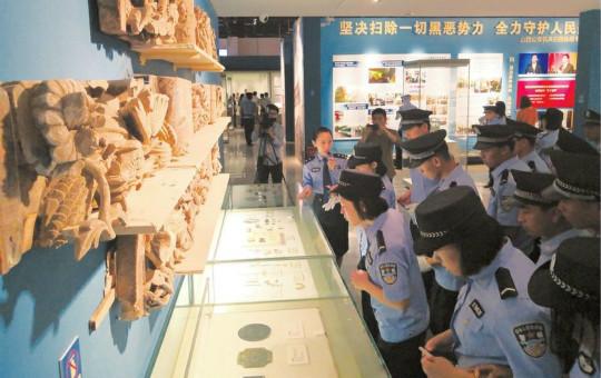 守护文物安全是警方义不容辞的责任