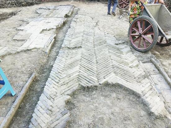 唐宋坊市遗址再现成都春熙路 这里已繁华上千年