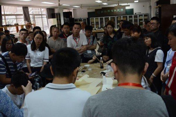 书画装裱古籍修复培训开班 15省市50位学员都来学