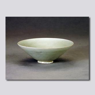 耀州窑青釉盏