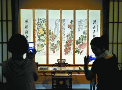 紫禁城金三角展区形成 让观众感受到博物馆氛围