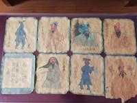 山西高平发现8幅炎帝行宫壁画底稿