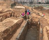 浙江萧山挖出两汉时期古墓群