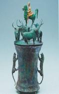 青铜贮贝器:青铜铸造的无声史书