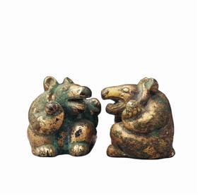 """让人爱不释手的""""呆萌""""猛兽:历史上的熊文物"""
