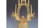 国家一级文物:东汉绿釉红陶井