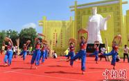 甘肃清水传统农耕文化登台演绎农业演变发展