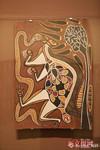 澳大利亚树皮画亮相中国国家博物馆