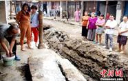 湖北孝昌发现距今200余年历史的青石碑