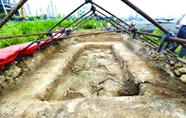上石河村古墓葬群出土近五百件春秋时期文物