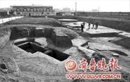 章丘于家埠汉墓中出土汉代时期随葬品