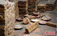 广州闹市区汉唐古墓群
