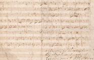 莫扎特原稿304.75万成交 !