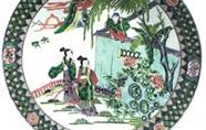 瓷器上的一道风景——人物经典故事