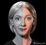 超现实肉眼3D人体彩绘