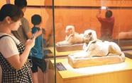 沈阳举办古埃及文物展