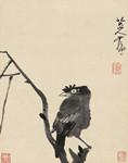保利春拍:朱耷《枝上鸜鹆图》1840万元成交