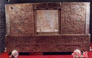 山西虞弘墓石椁等近百件北朝文物亮相深圳博物馆