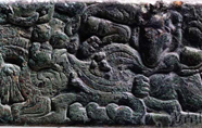 漢代 · 羊咬虎尾銅飾牌(寧夏博物館)