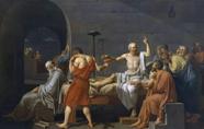 達維特《蘇格拉底之死》