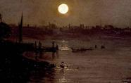 威廉·透納《密爾班克的月光》