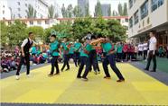 呼市第四中学举办首届《哈萨尔杯》搏克大赛