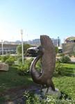 哈萨克斯坦首都阿斯塔纳城市雕塑