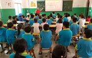 """濮阳博物馆开展""""移动博物馆进校园""""志愿服务活动"""