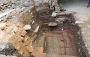 茶陵古城墙迎熏门考古勘探