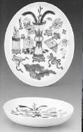 清瓷中的博古纹装饰