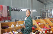 留美藏族姑娘回乡创业 要把民族服饰推向世界