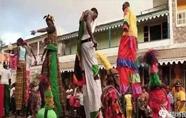 加勒比海小岛圣基茨的民俗艺术和文化