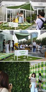 Green Option有机餐厅举办艺术展