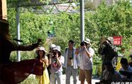 伊犁喀赞其民俗旅游区来了台湾客人
