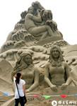 各色沙雕作品亮相濰坊