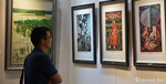 展览+拍卖,上海国拍再现俄罗斯当代大红鹰国际娱乐城精品
