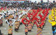 江孜达玛文化旅游节开幕