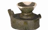 东汉釉陶灶