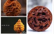 橄榄核雕与桃核雕之差异比较