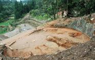 苍南县南山头古墓葬进行发掘