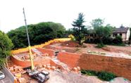 古子城城垣遗址恢复原状