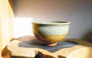 青花瓷大老碗:黄土坯的布碗