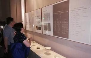 元代任仁发家族特展在上海青浦区博物馆展出