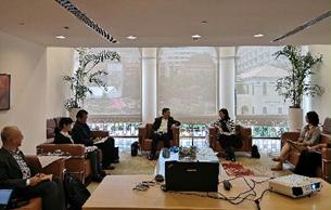 国家文物局与澳门特区政府文化局召开工作会议