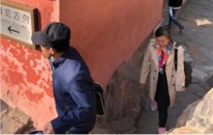 """颐和园回应""""外国游客翻墙拍照踩碎瓦"""""""