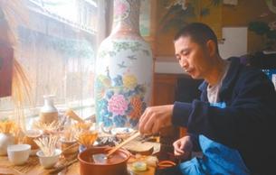 邛崃瓷胎竹编:材料好,手艺精,历史久