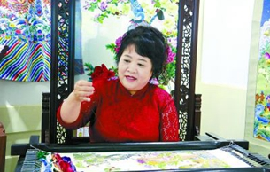 定兴京绣:皇宫走出的绝活