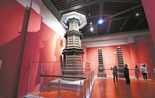 洛阳博物馆宫廷文物馆改造提升完毕 今日重新开放